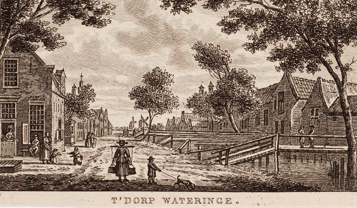 Het dorp Wateringen